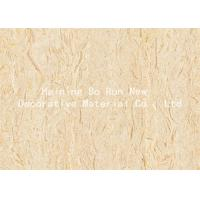 Pvc Embossed Wood Grain Film Wood Look Vinyl Wrap With High Hiding Power Manufactures