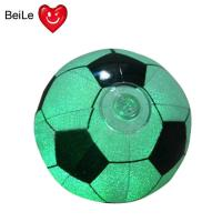 Buy cheap Promotion 18 inches PVC inflatable glow football with 0.22mm PVC(EN71) material from wholesalers