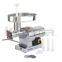 China W / 3 Cutting Plates Heavy Duty Meat Grinder With Stainless Steel Knife on sale
