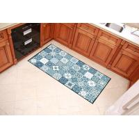 China Colorful Checkered Welcome Home Mat , Polyester Filling Outdoor Entrance Mats on sale