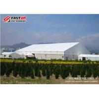 China Modern 2500 People Seater Giant Canopy Tent / Wedding Canopy Tent Flame Retardant on sale