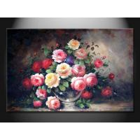 Modern Amazing Flower Paint Handmade Oil Painting for Decoration, GDHH123 Manufactures
