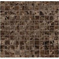 Dark Emperador Marble Mosaic Polished Cut to Size Marble Tiles for Wall Tile Manufactures