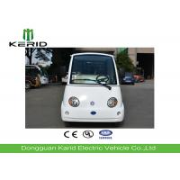 White 4 Seats Electric Recreational Vehicles with Free Maintenance Batteries Manufactures