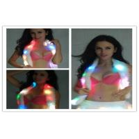 Fashionable Multiple Color Led Light Up Scarf Faux Fur Boa Lady Manufactures
