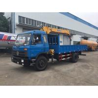 China 6 Wheel Truck Mounted Hydraulic Crane , 5 Tons XCMG Powerful Truck Mounted Knuckle Boom Cranes on sale