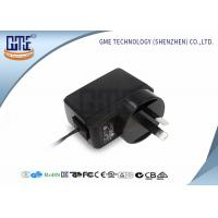 Black GME Australia Plug Adapter , Medical 5v 1a Power Adapter Manufactures