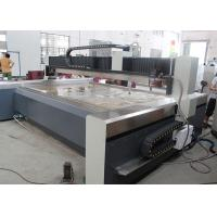 CAD / CAW Software Water Jet Glass Cutter , 5 Axis Water Jet Cutting Services Manufactures