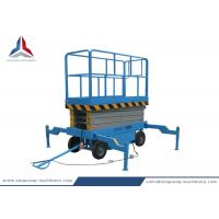 8m Platform Height Mobile Hydraulic Scissor Lift Table from China Factory