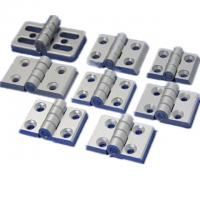 China T3-T8 Aluminum Hardware Products Commercial Glass Door Hinges Heavy Duty on sale