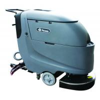 Dycon Small Electric Floor Scrubber Walk Behind Sweeper Scrubber With Big Mouth Recovery Tank Manufactures