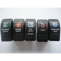 Single Light LED Rocker Switch Marine Boat Accessories Moisture Resistant Manufactures