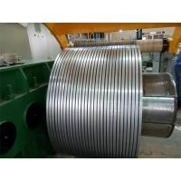 Slit Edge 202 Stainless Steel Metal Strips 2B Strips 0.6mm for Pipe Manufactures