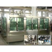 China Drinking Pure Water Filling Machines With Rinser 40 / Filler 40 / Capper 10 on sale