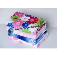 Antibacterial and Smell-free Printed Microfiber Cleaning Cloth Pink , Green Manufactures