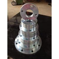 China Round Forged Steel Flanges For Piping System JIS ASTM A182 Standard Chemical Industry on sale