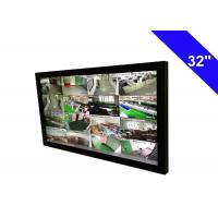 "Ultra Slim 32"" TFT BNC CCTV Monitor IR Receiver Auto Eliminate Blur Function Manufactures"