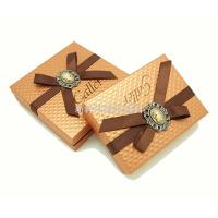 China Hard Cardboard Gift Box With Ribbon For Pillow Packaging Customized Size on sale