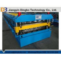 China Economical Roof Panel Roll Forming Machine With PLC Control System For Wall And Roof Construction on sale