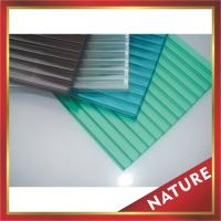 China PC hollow board,twin-wall polycarbonate sheet,two layers pc sheet,hollow pc panel-great construction cover! on sale