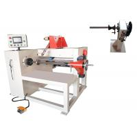 China 600mm Height Wire Coil Winding Machine , Oil Immersed Transformer Wire Coil Winder on sale