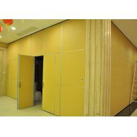 Moving Vinyl Metal Partition Walls Fabric Training Room Folding Partition Manufactures