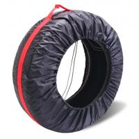 tyre cover storage bags polyester tire bag for car,Diameter Foldable Spare Waterproof Tire Covers Protection bag Manufactures