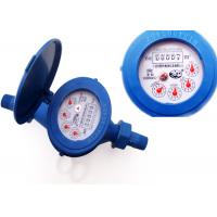 Super Dry Dial Plastic Water Meters Anti Magnetic ISO 4064 Class B Manufactures