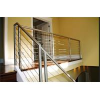 China Safety Stainless Steel Railing Easy Installation With Round / Square Shape Post on sale