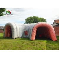 China 6m Huge Inflatable Colons Heart Tunnel Commercial Bounce Houses Flame Retardant on sale