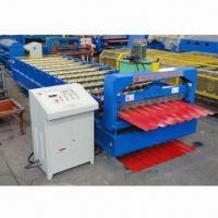 Color Steel Roof Panel Sheet Roll Forming Machine with 380V/50Hz Voltage and 1,250mm Plate Width Manufactures