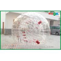 Commercial PVC Zorb Ball For Sports Game , Giant Inflatable Ball Manufactures