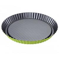 Non-Stick Carbon Steel Round Quiche Baking Cake Tart Pan Cake Tin Plated Steel Flan Manufactures
