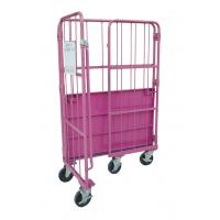China Foldable Roll Cage Trolley Space Saving Customized Size And Colors on sale