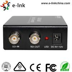 SDI to AV Scaler CCTV Fiber Optic Converter 1 Port BNC SD / HD / 3G - SDI + 3 port CVBS 3G Manufactures