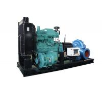 China Fire Control High Pressure Diesel Powered Water Pumps Centrifugal Double Suction on sale