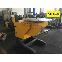China 15 t Manual Elevating Welding Positioner With 1.1kw Turning Power For Vessel Welding on sale