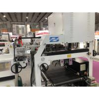 High Speed Shoe Box Making Machine Intelligent Spray Glue System Long Life Span Manufactures