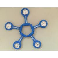 Personalized Dark Blue TIENAM Silicone Rubber Nurse Watch Fob Watch White Face ,For Promotion Gift Manufactures