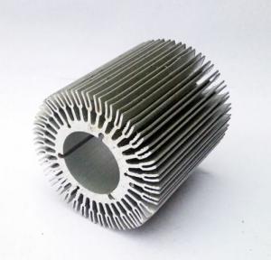 Custom Extruded Aluminum Profile Aluminum Heat Sinks 6061, 6063 Material Manufactures