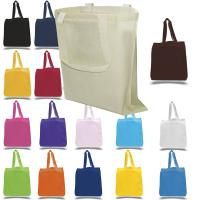 China reusable grocery bags cotton canvas tote eco friendly custom printed cotton tote bags for promotion on sale