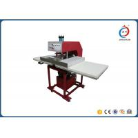 Hydraulic Dual Station Cloths T Shirt Printing Machine / Sublimation Heat Press Machine Manufactures