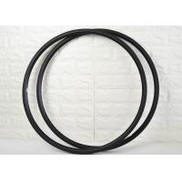 24mm Carbon Road Rims V Shape 700c Light Weight With Basalt Brake Surface Manufactures