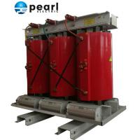 Red Cast Resin Dry - Type Distribution Transformer With Rated Capacity 125KVA Manufactures