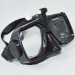 Scratch Resistant Black Diving Snorkel Mask Watertight OEM Acceptable Manufactures