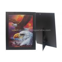 Paper Frame Stand 3d Lenticular Sheets Picture PET Custom Design Manufactures