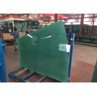 Flat / Curved Decorative Toughened Tempered Glass for Building , Furniture , Shower Door Manufactures