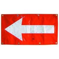 Flashing LED Chevron Traffic Arrow Boards Mat Directional Warning Flag TAB053 Manufactures