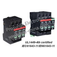 China T2/Class C SPD/ lightning /Surge Arrester for AC power distribution system, UL1449-4th and IEC61643-11 certified on sale