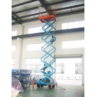 China 14 Meters Hydraulic Mobile Aerial Work Platform with 300Kg Loading Capacity for sale